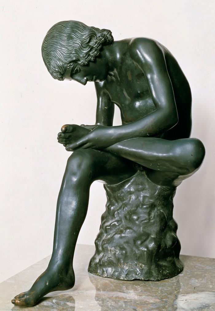 Escultura el Espinario o El niño de la espina