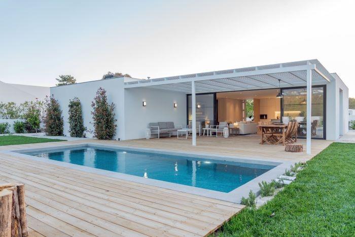 Gran villa con piscina, alojamiento para vacaciones