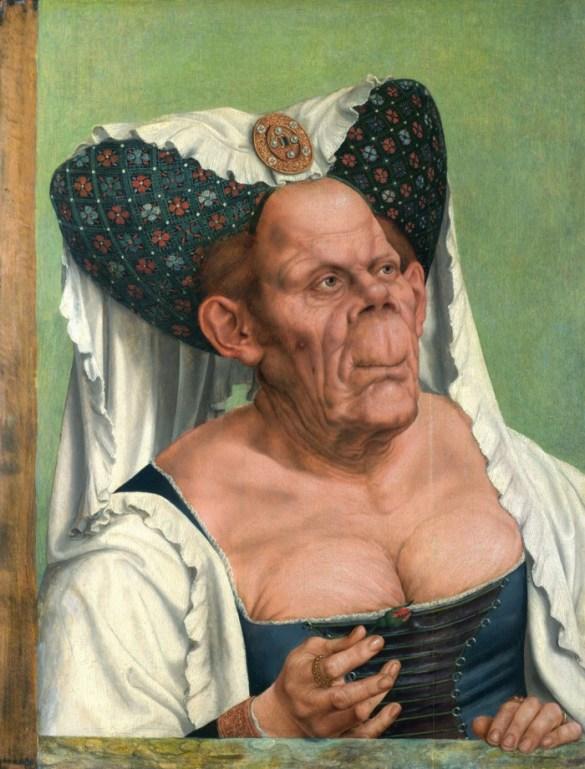 Obra pictórica La duquesa fea de Quinten Massys