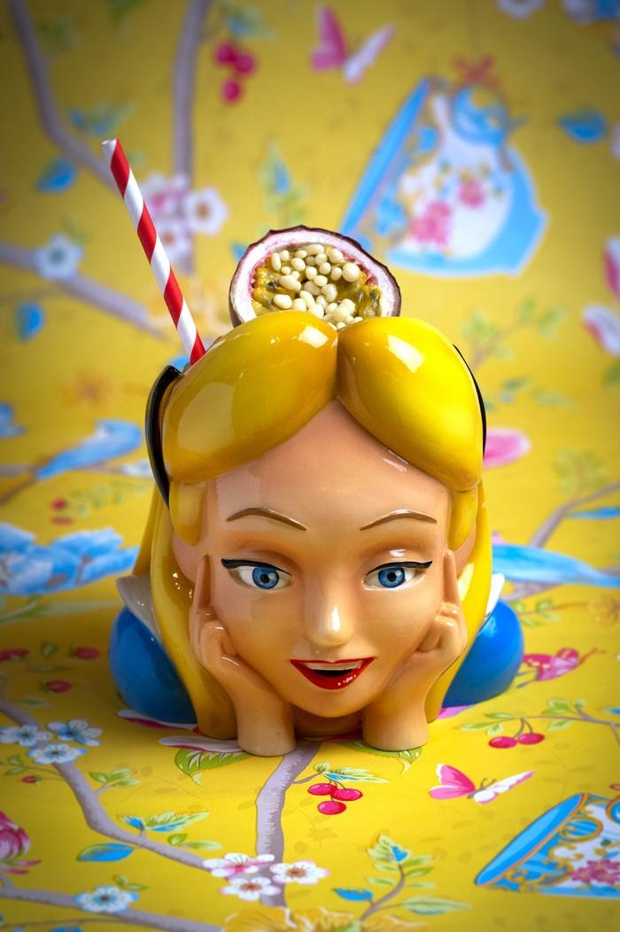 imagen cóctel Alicia en el país de Rosi en el restaurante Rosi La Loca Madrid