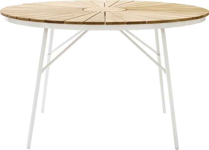 barnizada circular madera blanco