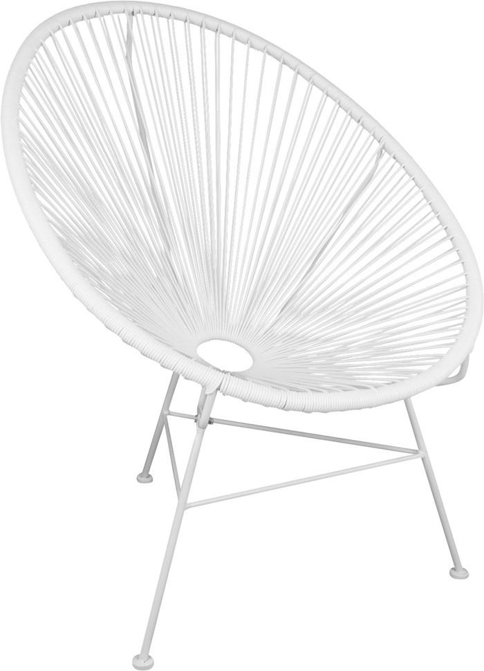 redondeado blanco silla