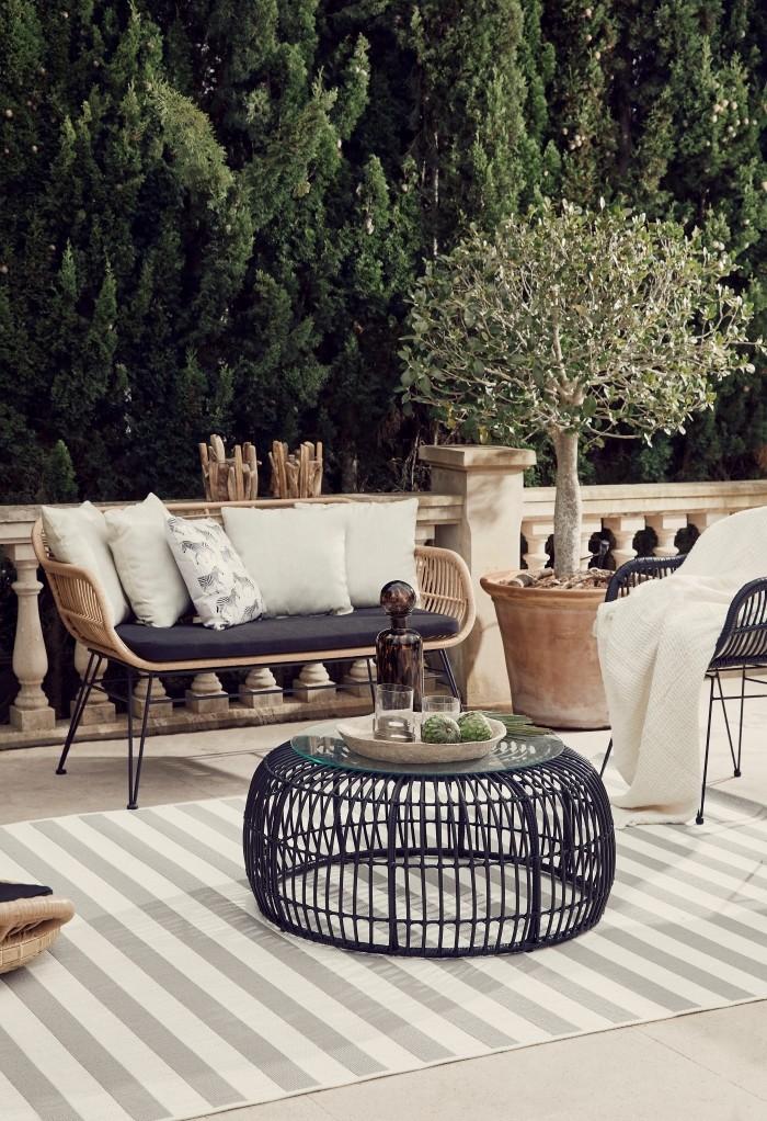 mobiliario tropical terraza