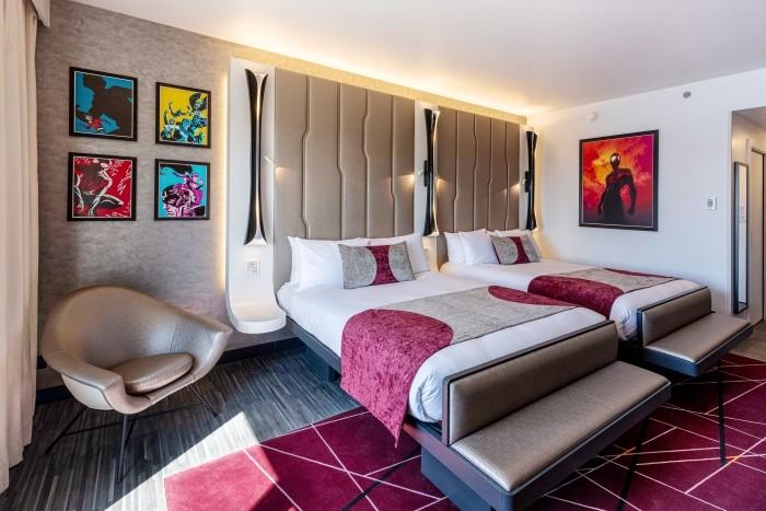 Hotel New York – The Art of Marvel, una oda a los superhéroes