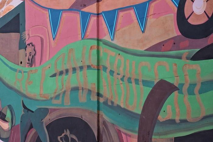 texto reconstrucio pintura pared