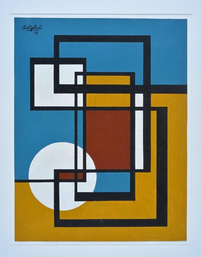 pieza arte abstracto