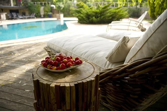 tranquilidad relax verano natacion cojines