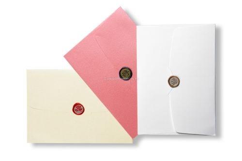 sobres-elegantes-con-sellos-de-lacre para invitaciones de boda
