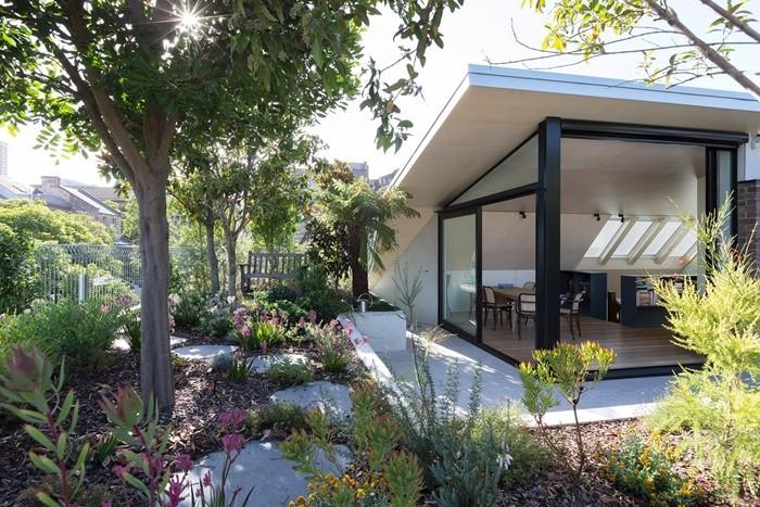 jardin exterior edificio azotea
