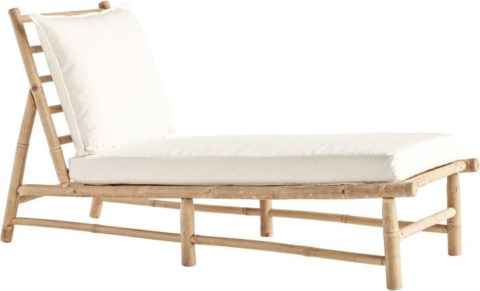 mobiliario blanco bambú