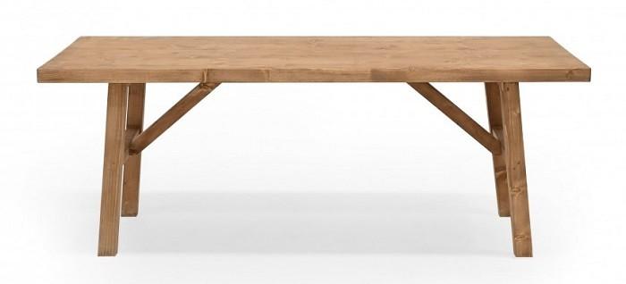 Mesa de centro envejecida en madera de Decowwod