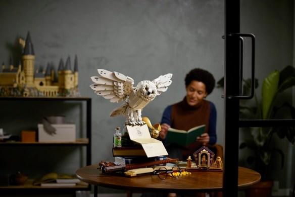 Edicion-de-coleccionista-de-LEGO con Harry Potter Hogwarts Icons
