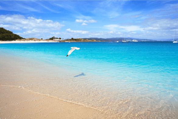 Playa como lugar romántico para ir con tu pareja