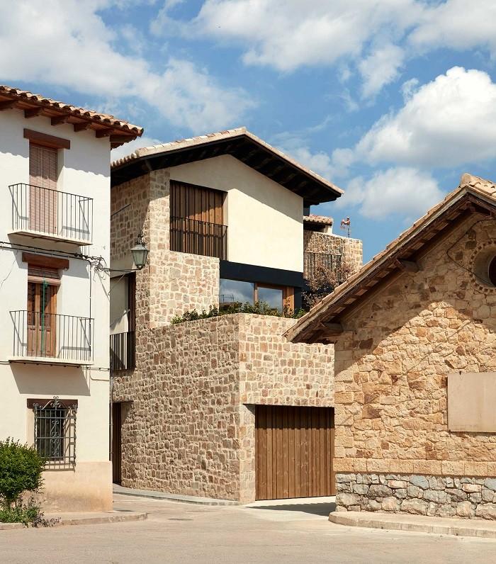 casa tradicional y rural de Rubielos