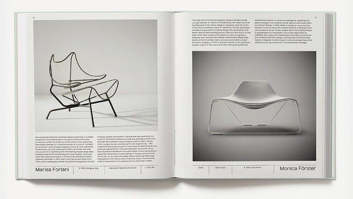 diseño de sillas de diseñadoras del libro woman made