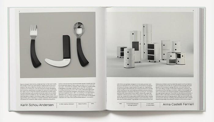 diseños de cosas cotidianas en el libro de woman made
