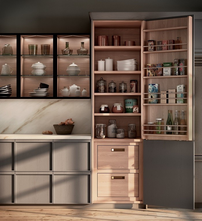 Armario de cocina con gran almacenaje Rekker