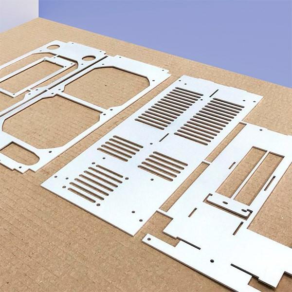 piezas aluminio corte laser