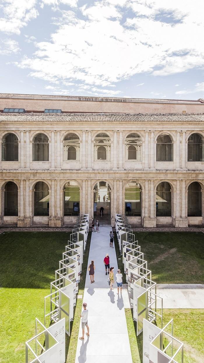Panorámica de la exposición XV BEAU en Valladolid