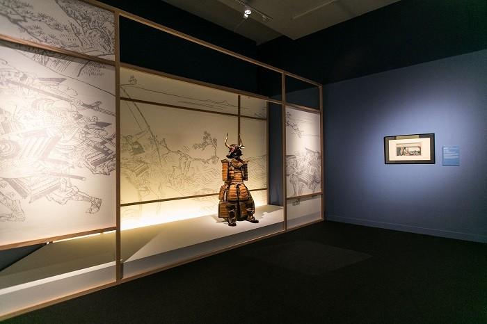 sala de exposición de cultura japonesa