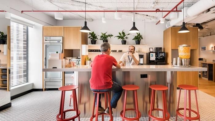mesa alta cocina trabajo