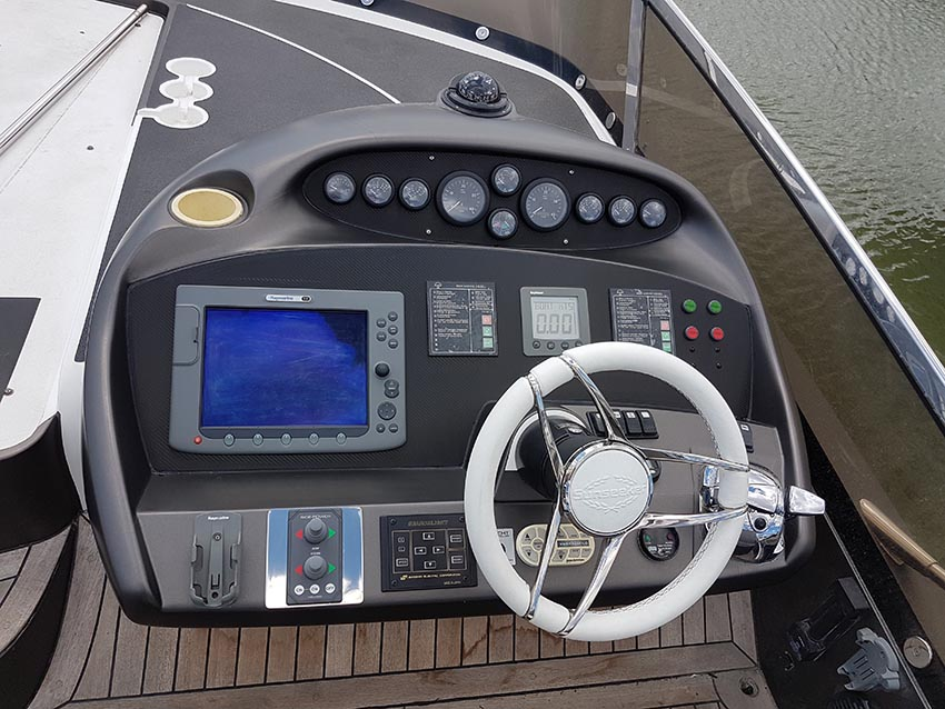 Yacht helm panels transformed
