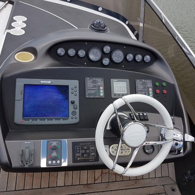 yacht interior after 3m wrapping