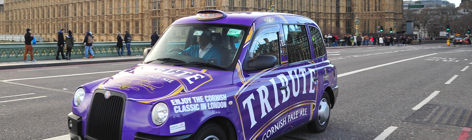taxi wrapping london