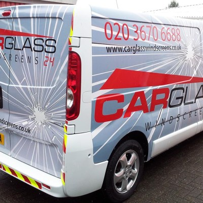 printed van wraps london