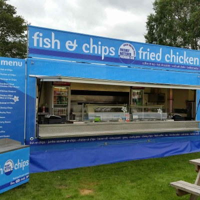 fish and chips unit signs
