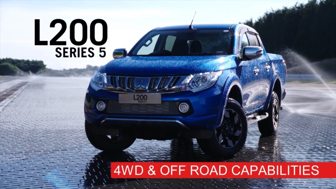 L200 Test Super Select y 4WD con Mike Brewer
