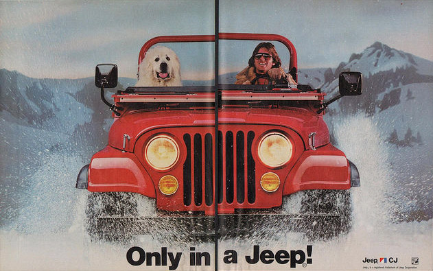 Vintage Jeep Ads
