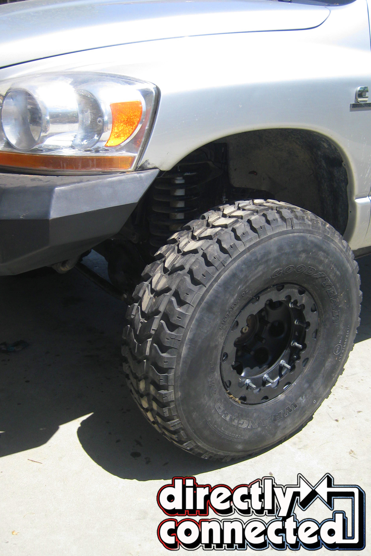 Double Standard Hardcore Wheels and Tires For This Cummins