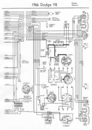 1966 Dodge Monaco Ignition Wiring  Mopar Forums