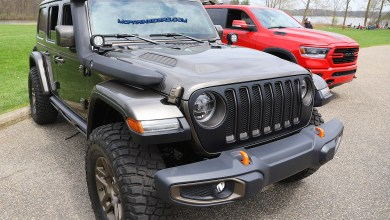 Photo of Jeep Wrangler J-Wagon Concept – Up Close And Personal: