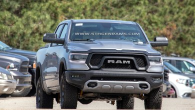 Photo of 2019 Ram 1500 V6 Models Caught Testing Before Production: