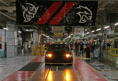 The last 2018 Dodge Challenger SRT Demon was produced at the Brampton Assembly Plant. (FCA US Photo)