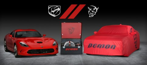 """""""The ultimate last chance"""" 2017 VIper and 2018 Dodge Challenger SRT Demon (FCA Photo)"""