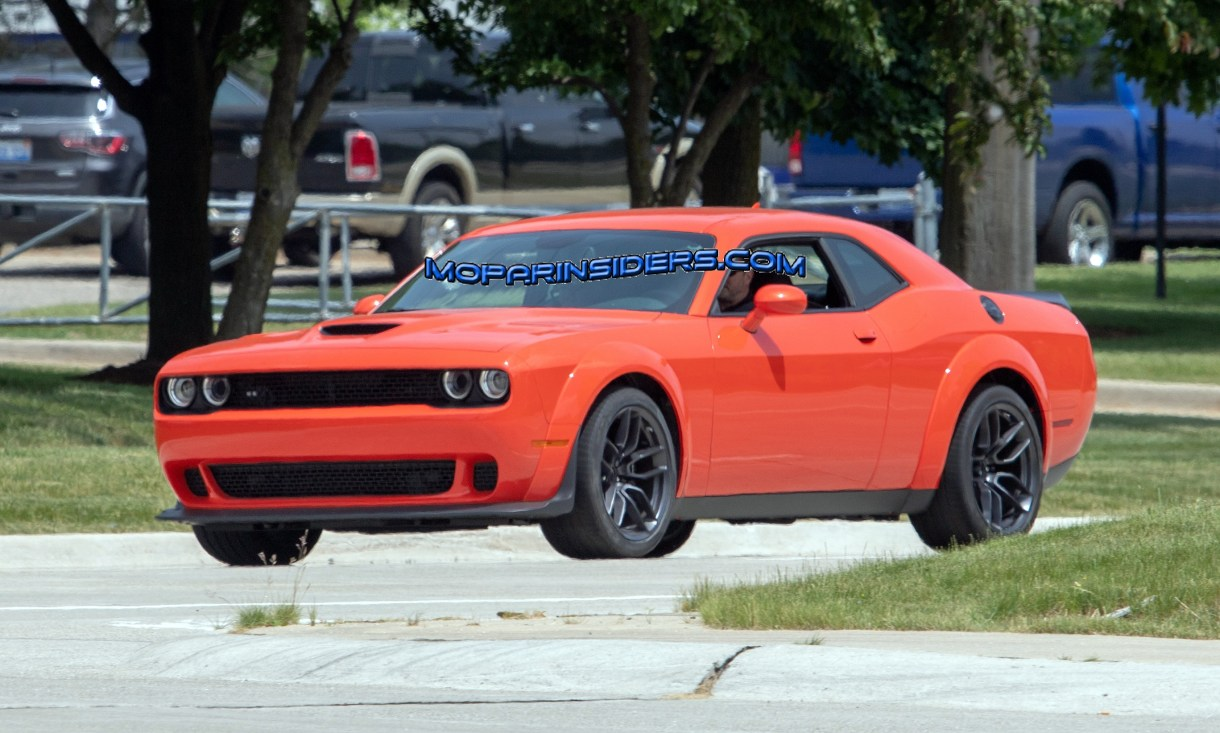 Spotted 2019 Dodge Challenger R T Scat Pack Widebody On The Street