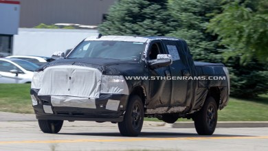 Photo of CAUGHT: 2020 Ram 2500 Mega Cab Models: