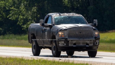 Photo of New Ram 2500 Spy Shots Reveal More Clues: