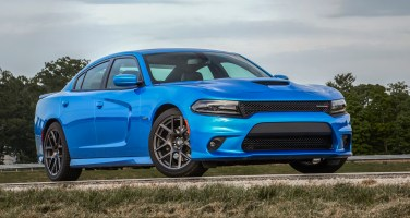 2019 Dodge Charger R/T in B5 Blue. (Dodge).