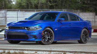 2019 Dodge Charger R/T Scat Pack in IndiGO Blue. (Dodge).