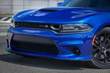 2019 Dodge Charger R/T Scat Pack in IndiGO Blue. (Dodge).