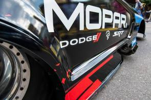 2019 Dodge Charger SRT HELLCAT Funny Car. (Mopar)