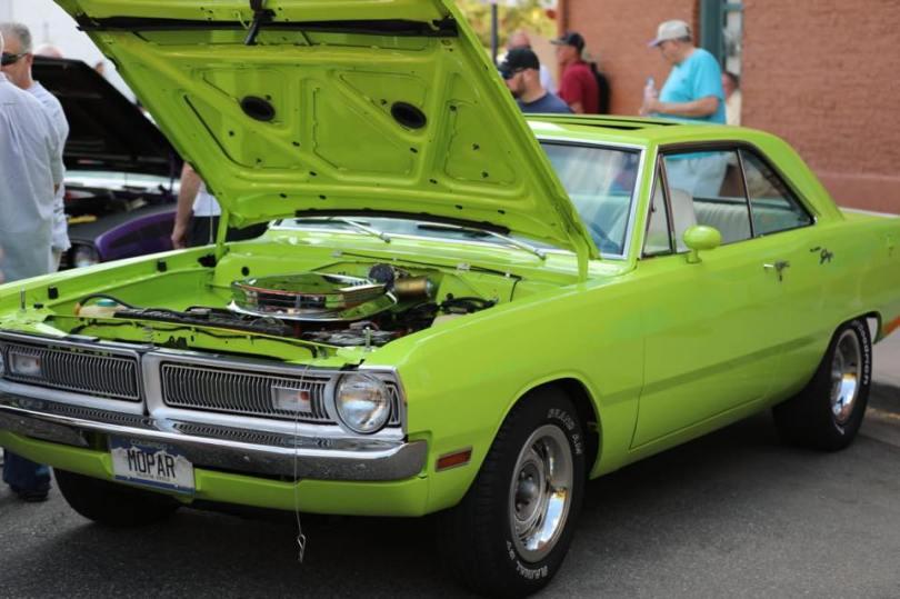 Dodge Dart Part Of The Car Show at the Mopar Big-Block Party. (Mopar)
