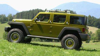 2004 Jeep® Rescue Concept. (Jeep).