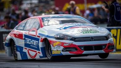 Photo of NHRA Driver Alex Laughlin Drives A GM-Powered Dodge Dart This Weekend: