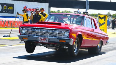 Photo of Dennis Steward Seizes Super Stock Win In Mopar-Powered Plymouth Savoy: