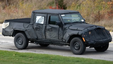 Photo of SPIED: 2020 Jeep Gladiator Sport Caught On Public Roads:
